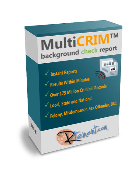 MultiCRIM Maryland Criminal Background Check